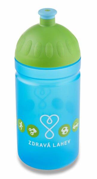Zdravá lahev 0,5 l Logo, modrá