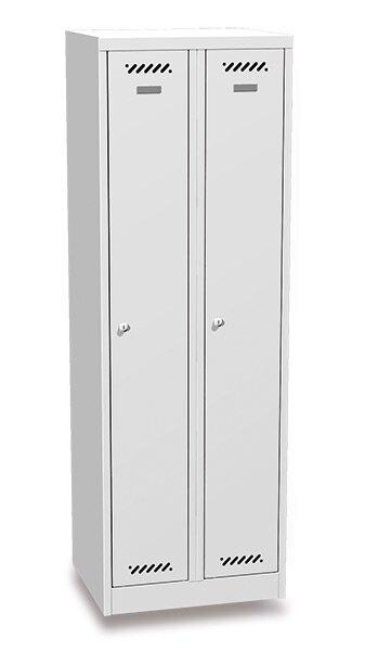 Šatní skříň BAS 32A šedá