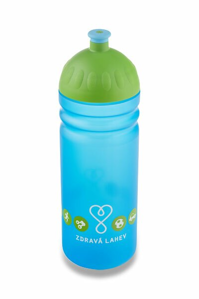 Zdravá lahev 0,7 l Logo, modrá
