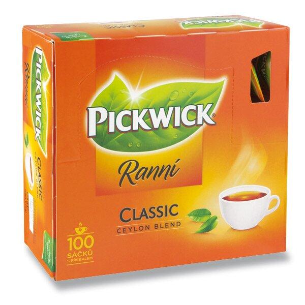 Černý čaj Pickwick Ranní 100 sáčků