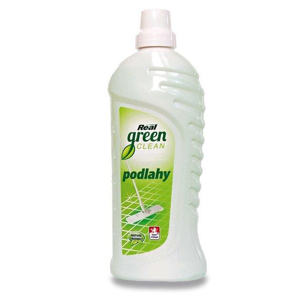 Prostředek na podlahy Real green clean 1000 g