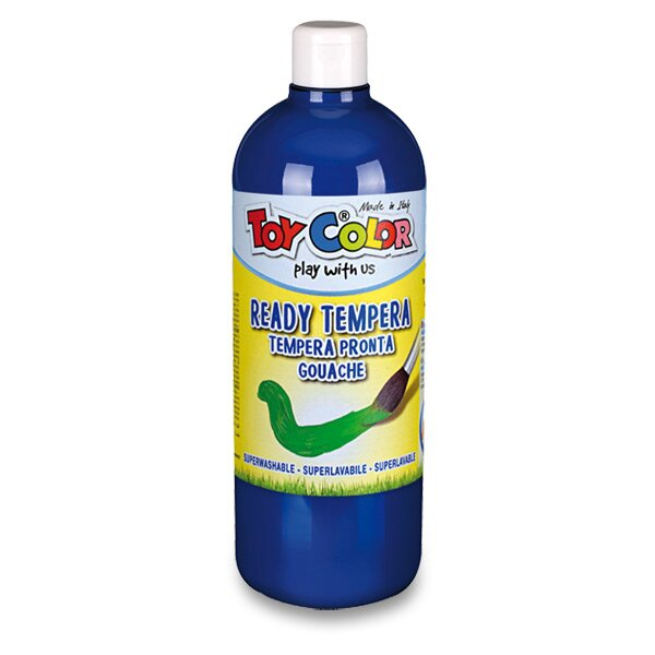 Temperová barva Ready Tempera - 1000 ml modrá