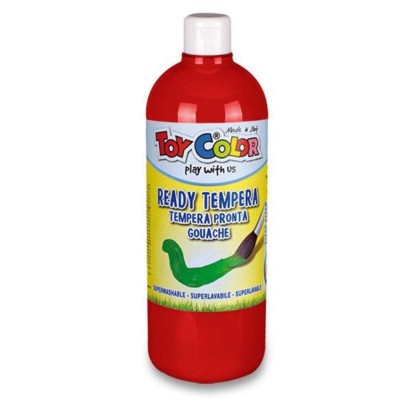 Temperová barva Ready Tempera - 1000 ml červená