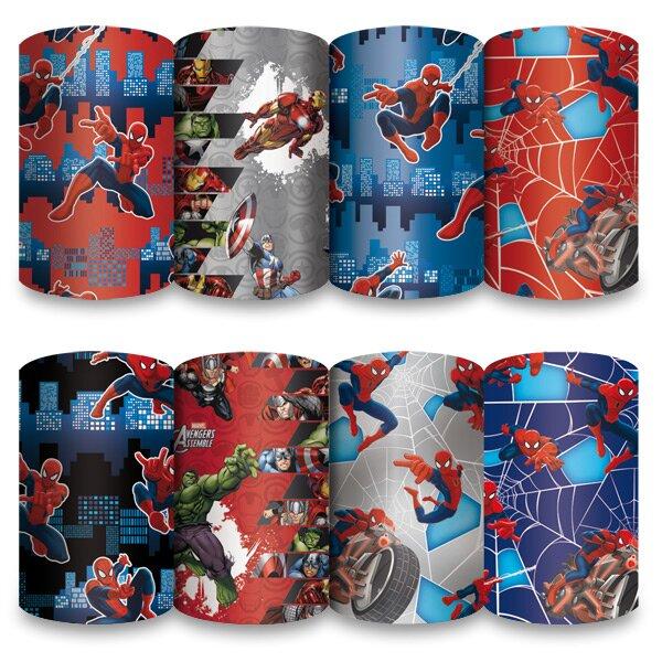 Dárkový balicí papír Spiderman 2 x 0,7 m, mix motivů