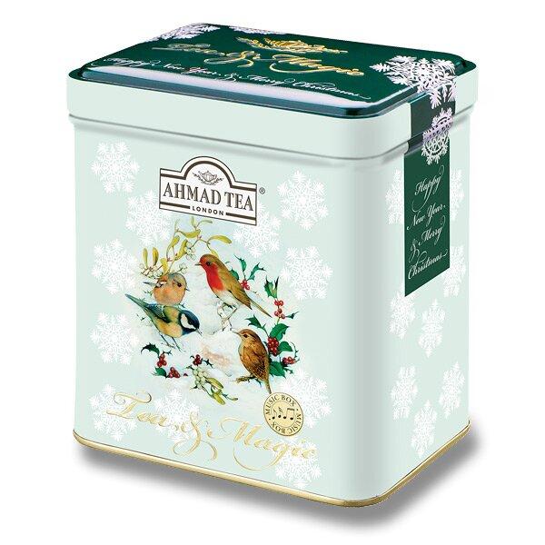 Hrací skříňka s černým čajem Ahmad Tea hrací skříňka, 80 g