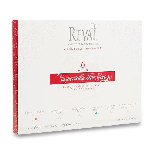 Dárková sada čajů Té Reval 6 druhů, 24 x 2 g