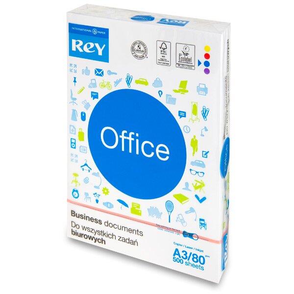 Kancelářský papír Rey Office A3, 80 g, 500 listů