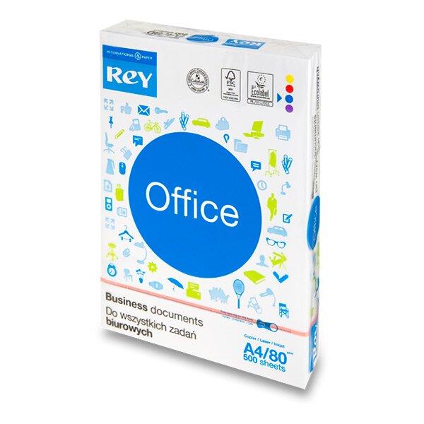 Kancelářský papír Rey Office A4, 80 g, 5 x 500 listů