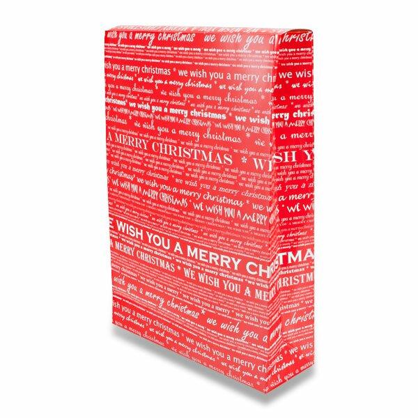 Papírový box Ambar Xmass 250 x 80 x 350 mm, vel. M