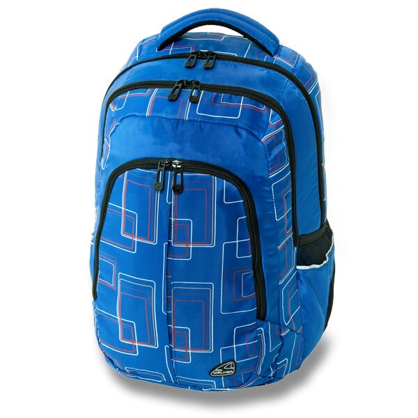 Školní batoh Walker Cargo Frame modrý