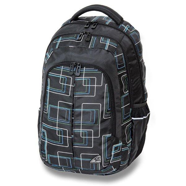 Školní batoh Walker Cargo Frame černý