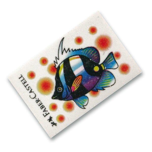 Pryž Faber-Castell Fish mix motivů