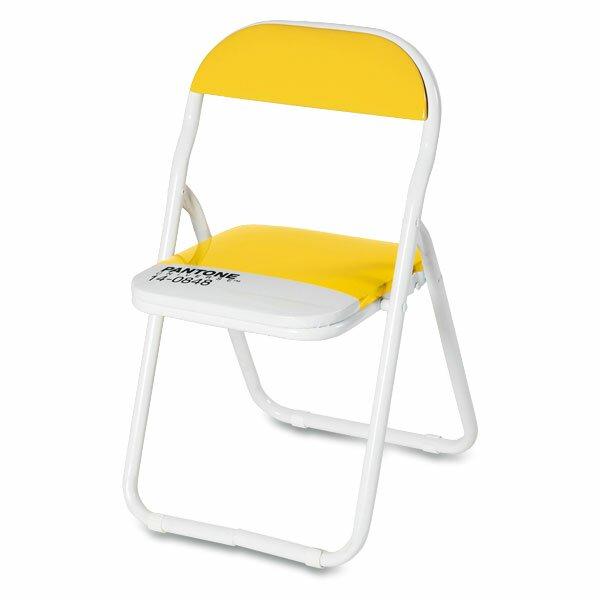 Dětská skládací židle Seletti Pantone žlutá