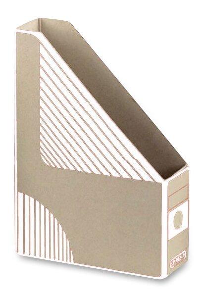 Otevřený archivační box Emba 330 x 230 x 75 mm, bílý