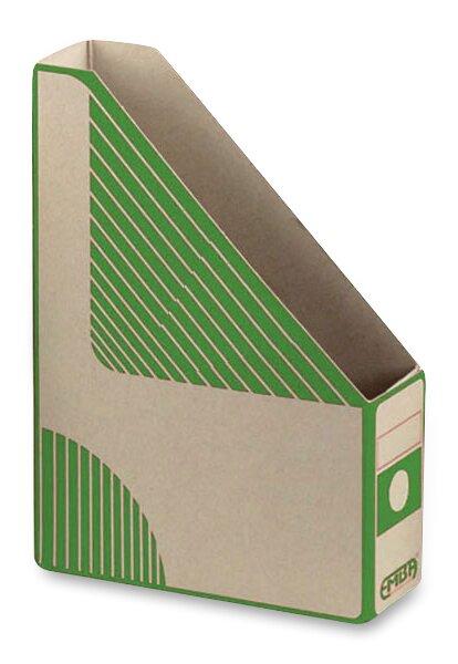 Otevřený archivační box Emba 330 x 230 x 75 mm, zelený