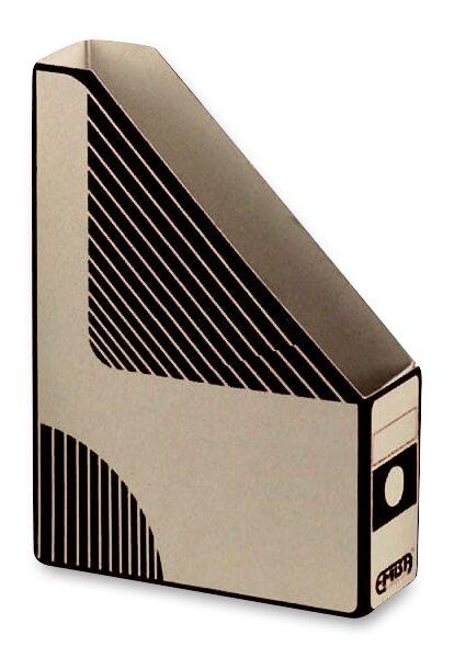 Otevřený archivační box Emba 330 x 230 x 75 mm, černý