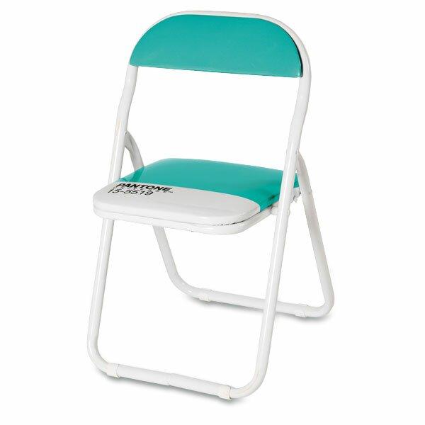 Dětská skládací židle Seletti Pantone tyrkysová