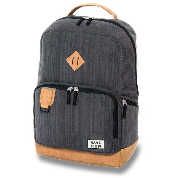 Školní batoh Walker Pure Concept šedý