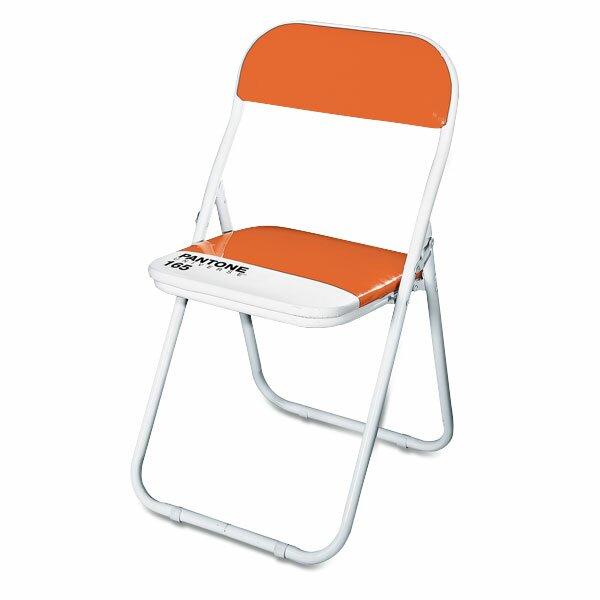 Dětská skládací židle Seletti Pantone oranžová