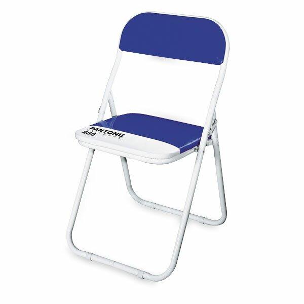 Dětská skládací židle Seletti Pantone modrá