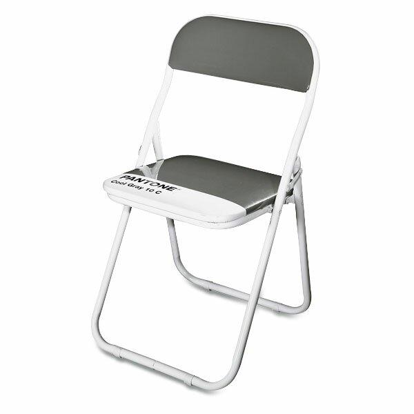 Dětská skládací židle Seletti Pantone šedá
