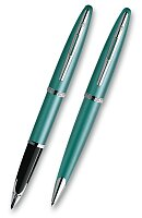 Waterman Carene Lagoon s inkoustem