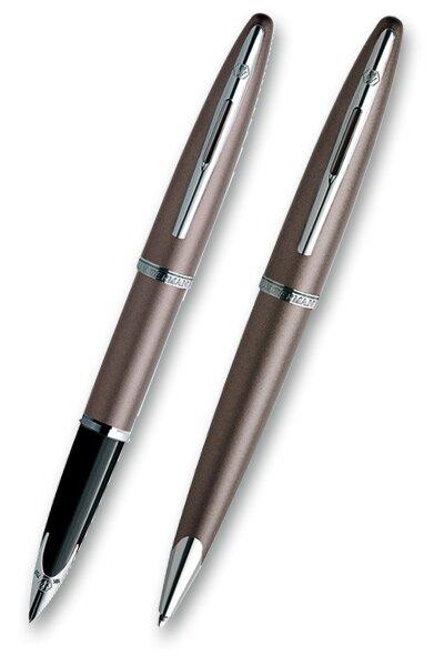 Waterman Carène Sand s inkoustem sada plnicí pero a kuličková tužka