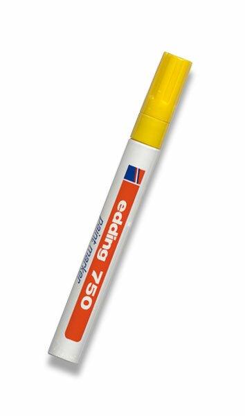 Lakový popisovač Edding 750 žlutý