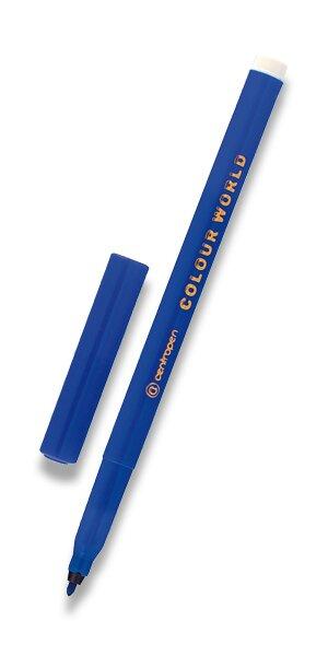 Popisovač Centropen Colour World 7550 modrý