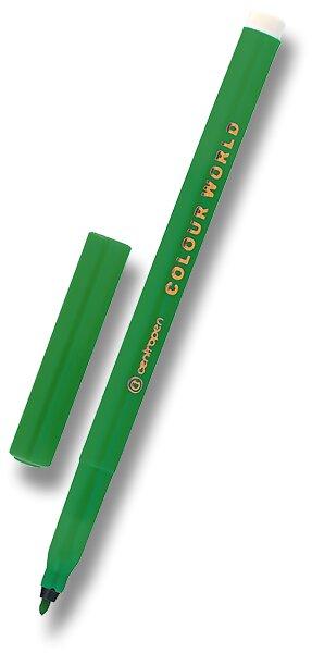 Popisovač Centropen Colour World 7550 zelený