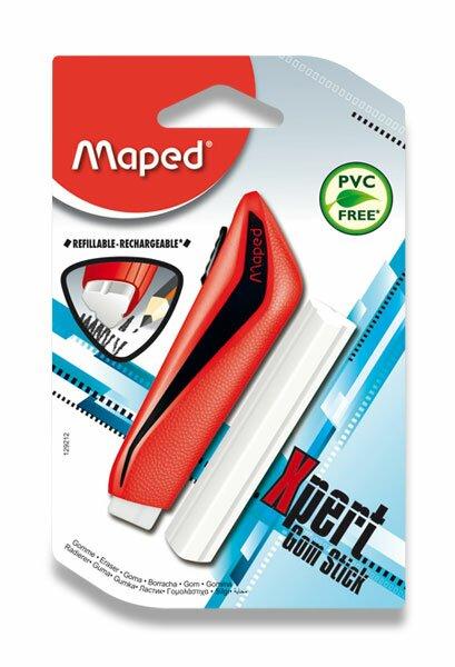Pryž Maped X-pert Stick s náhradní pryží, mix barev