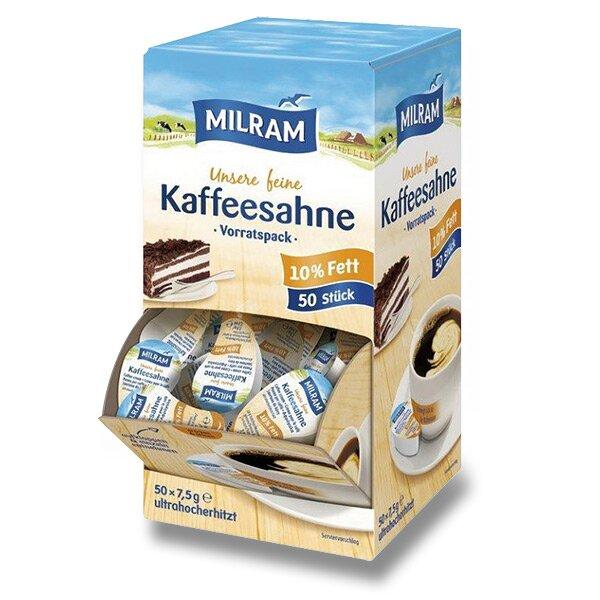 Smetana do kávy Milram 50 ks po 7,5 g