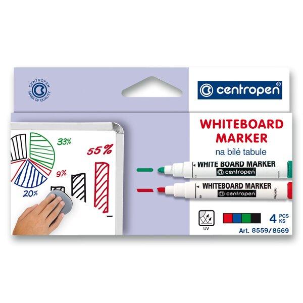 Popisovač na tabule Centropen WB Marker 8569 sada 4 barev