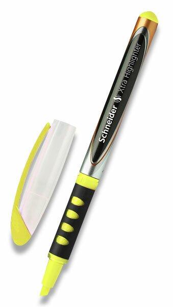 Zvýrazňovač Schneider Xtra Highlighter žlutý