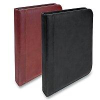 Luxusní kožené desky na zip Triton Vera