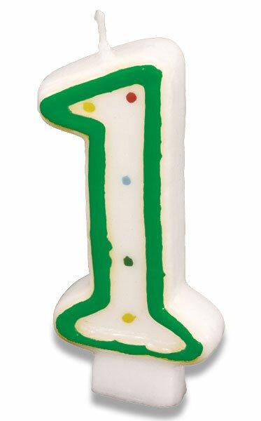 Dortová svíčka - 1