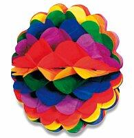 Papírová koule Rainbow