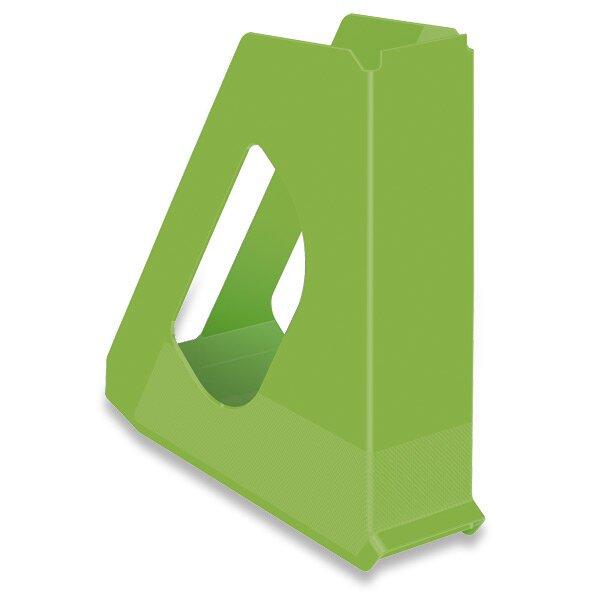 Stojan na časopisy Esselte Vivida zelený