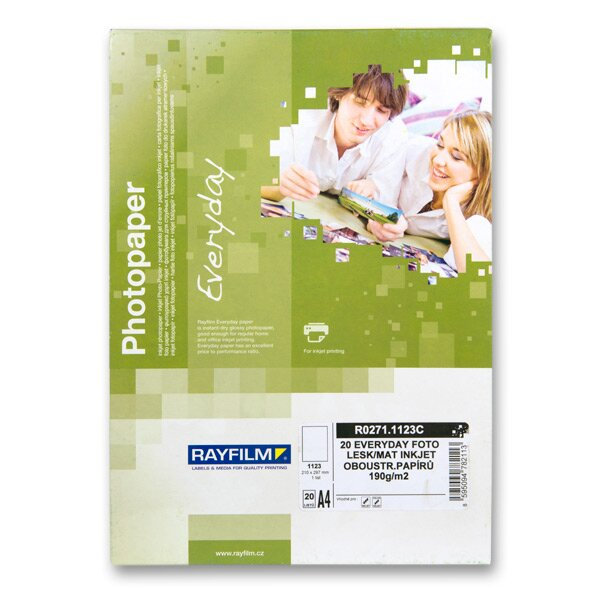Fotopapír Rayfilm Everyday A4, 190 g, 20 listů