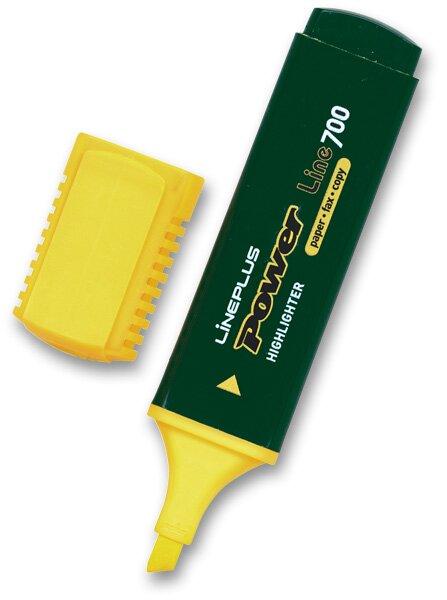 Zvýrazňovač Power žlutý