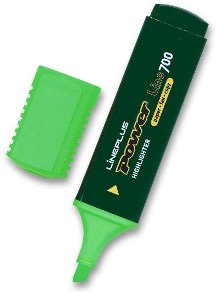 Zvýrazňovač Power zelený