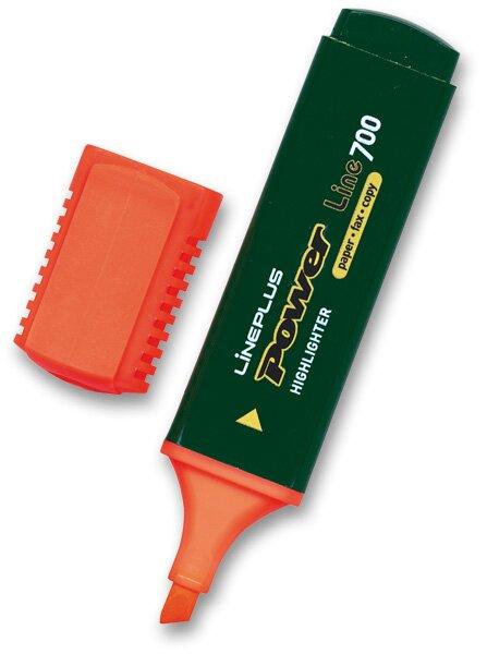 Zvýrazňovač Power oranžový