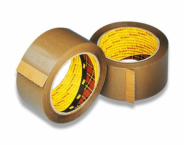 Balicí páska Scotch 371 50 mm x 66 m, hnědá