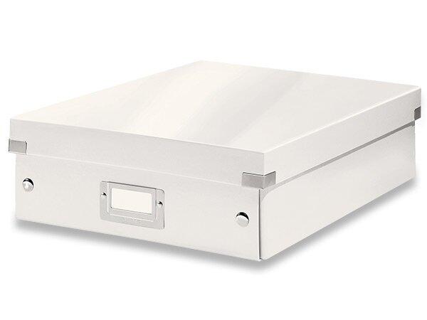 Organizační krabice Click & Store vel. M bílá
