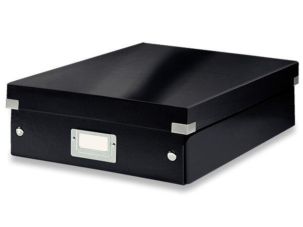 Organizační krabice Click & Store vel. M černá