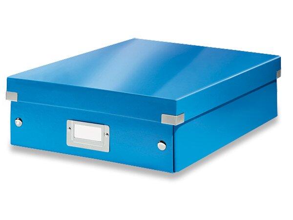 Organizační krabice Click & Store vel. M modrá