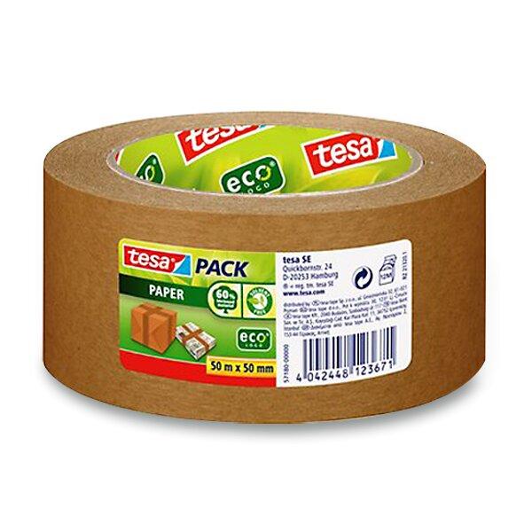 Papírová samolepicí páska Tesa Paper EcoLogo 50 mm x 50 m