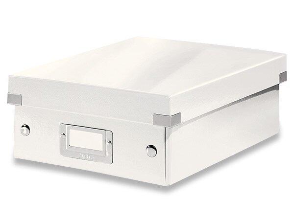 Organizační krabice Click & Store vel. S bílá