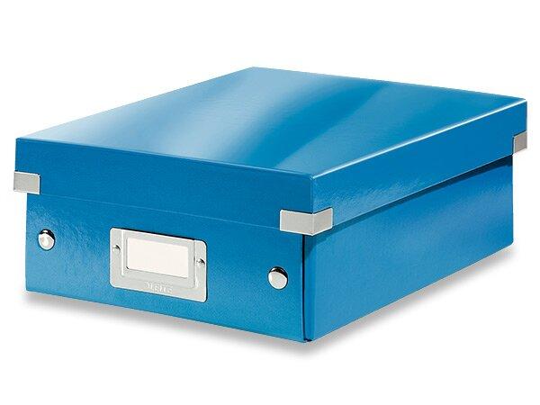 Organizační krabice Click & Store vel. S modrá