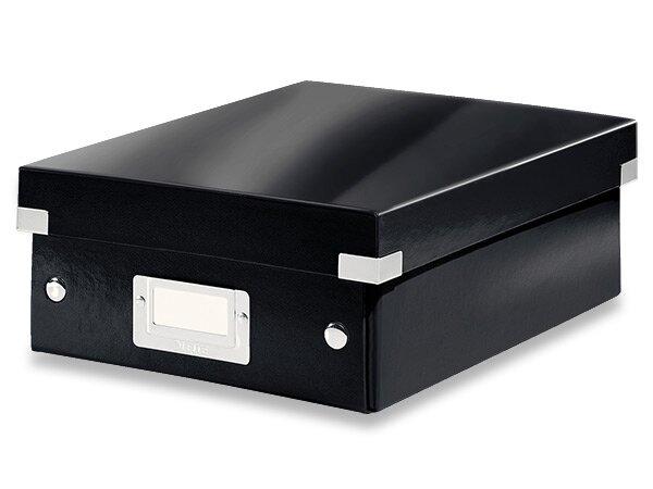 Organizační krabice Click & Store vel. S černá